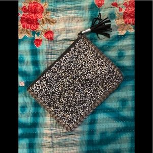 Mossimo sequin clutch